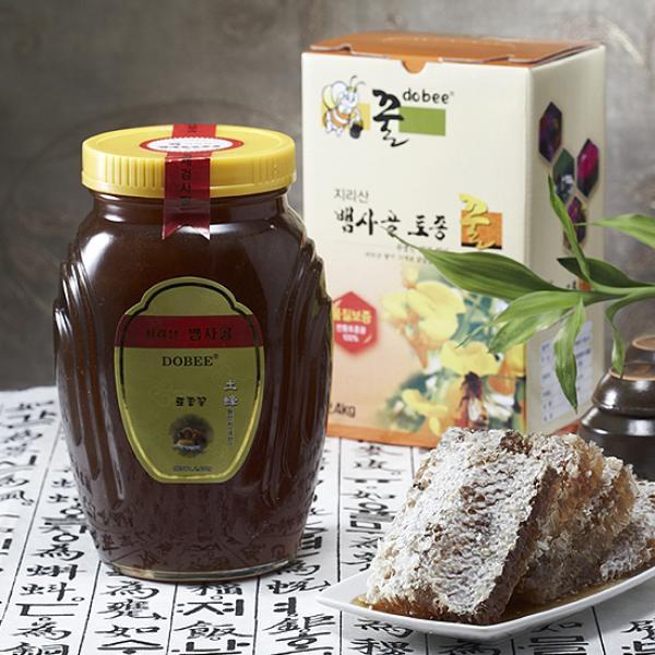 지리산뱀사골토종꿀 [지리산뱀사골토종꿀] 잡화꿀 (병) 2.4kg, 1, 없음/없음/없음