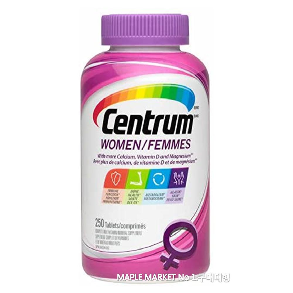 센트룸 포맨 포우먼 종합비타민 250정, 1개, 포우먼/여자/250정
