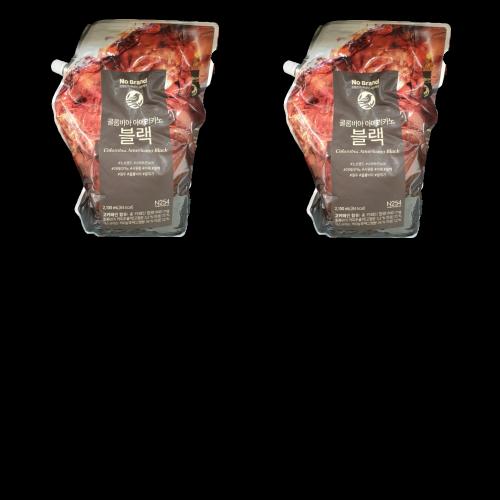 노브랜드 컬럼비아 아메리카노 블랙 커피 대용량 2.1리터 x 2팩-2-5697149101