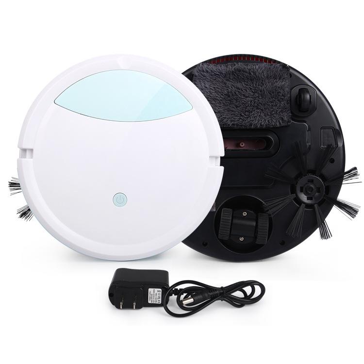 로봇청소기 전자동 가정용 3in1청소 편안한 강력흡력 스마트 물걸레청소 먼지흡입 일체형, T02-업그레이드 603(강력흡력)청소 화이트