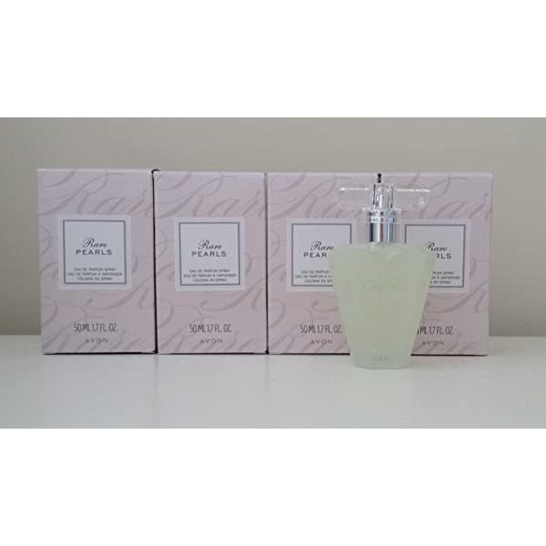 Lot of 4 Avon Rare Pearls Eau de Parfum Spray 1.7 Oz. Each, 본문참고, 본문참고