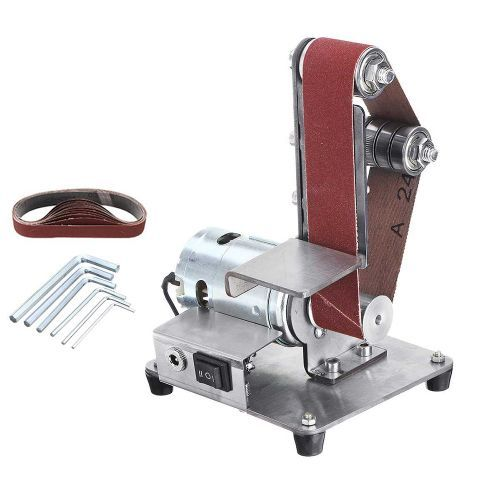 [해외] 렌치 연삭 기계 커터 워크샵 도구 키트. 벨트 샌더 연마, 1개