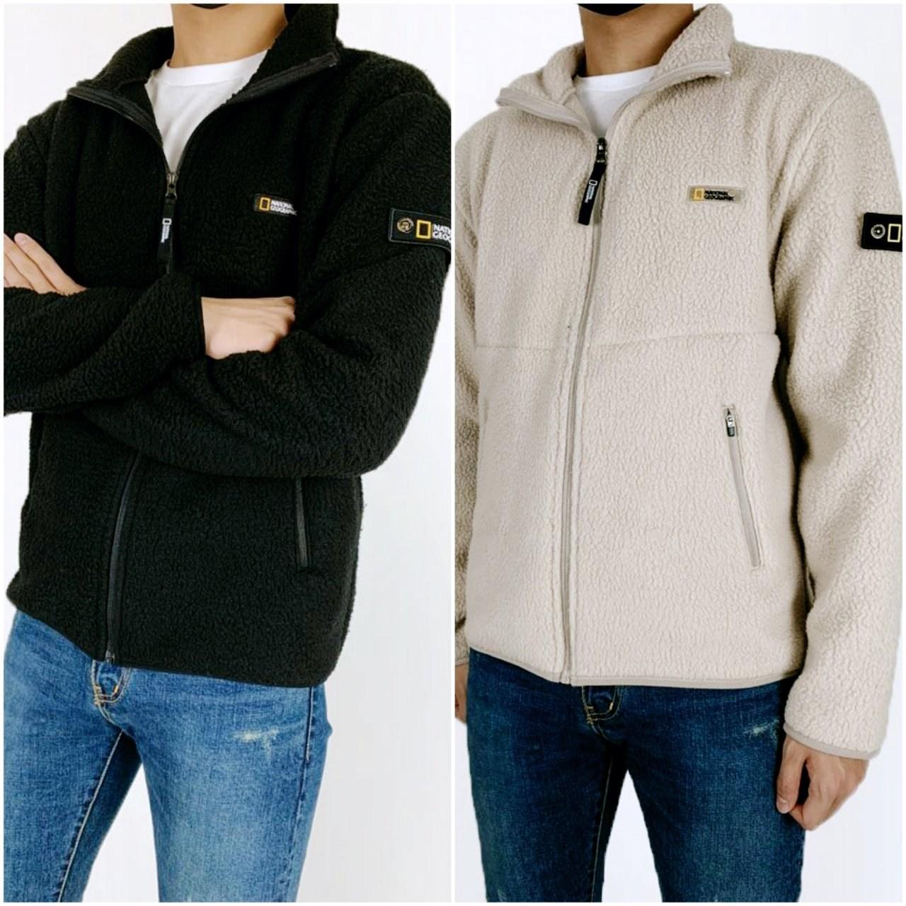 내셔널지오그래픽 양털 자켓 - 가을신상(남녀공용)