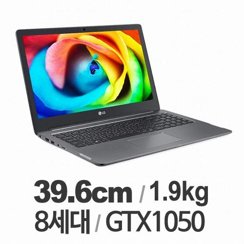 [개봉만해본전시품]LG전자 울트라 GT 노트북 (8세대 i5-8250U) 8GB SSD 512GB + HDD 1TB WINDOW10 지포스 GTX1050, 15U780-PA5MK 8GB