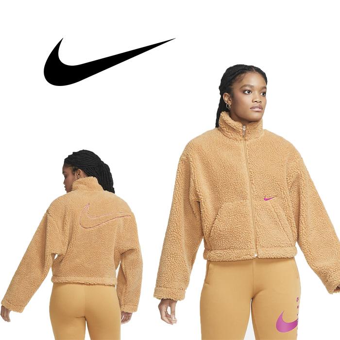 나이키 스우시 재킷 셰르파 플렉스 그린 여성 재킷 U6639201