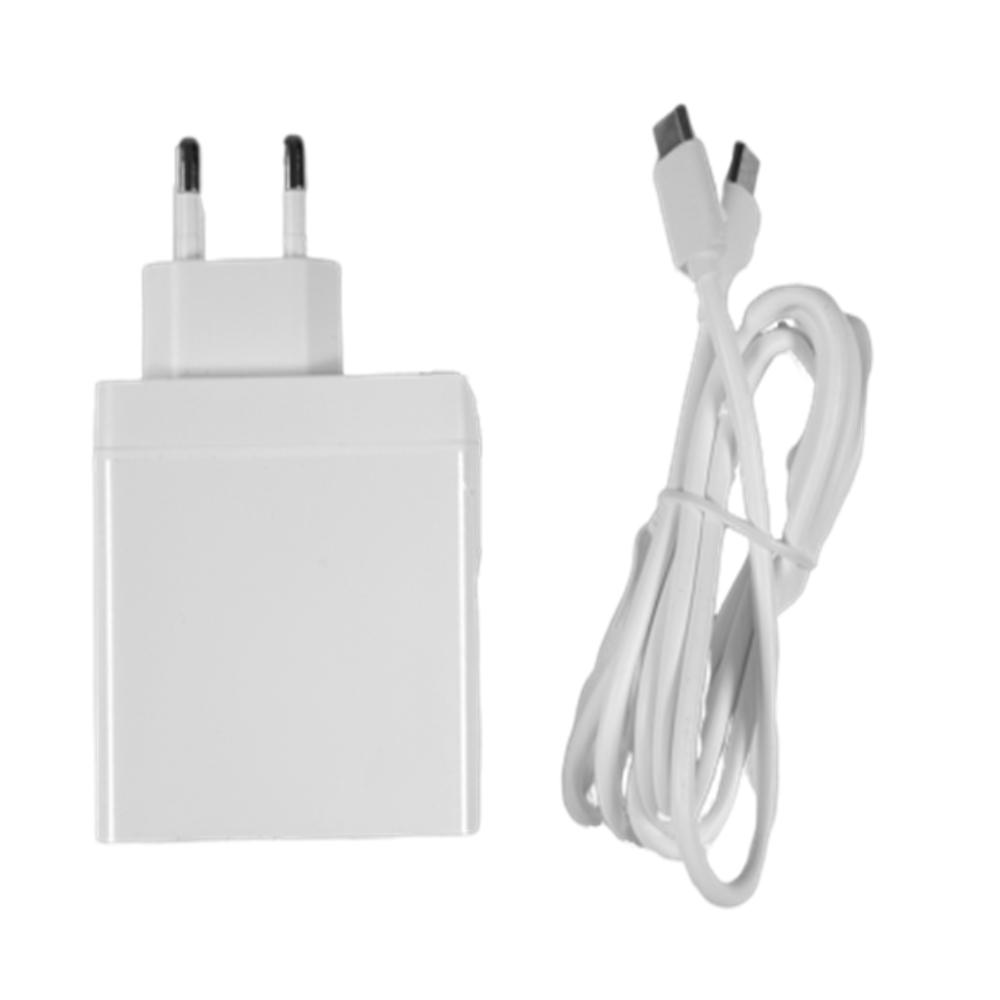 라떼판다 알파/델타 전용 USB-PD 호환 63W 듀얼포트 충전기(벌크), 단일상품