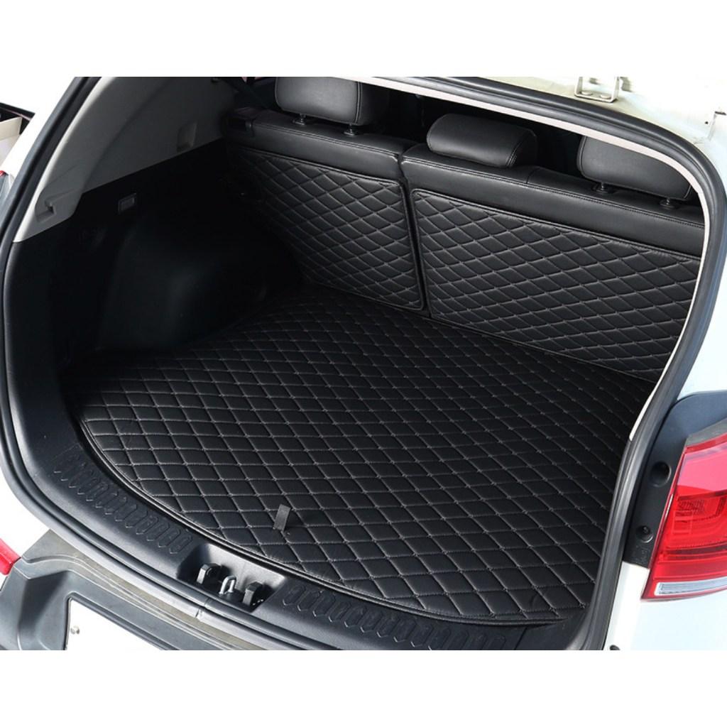 [차덕후] 트렁크 매트&차박 매트 (퀄팅 트렁크+등받이 세트), BLACK, 필요 없음