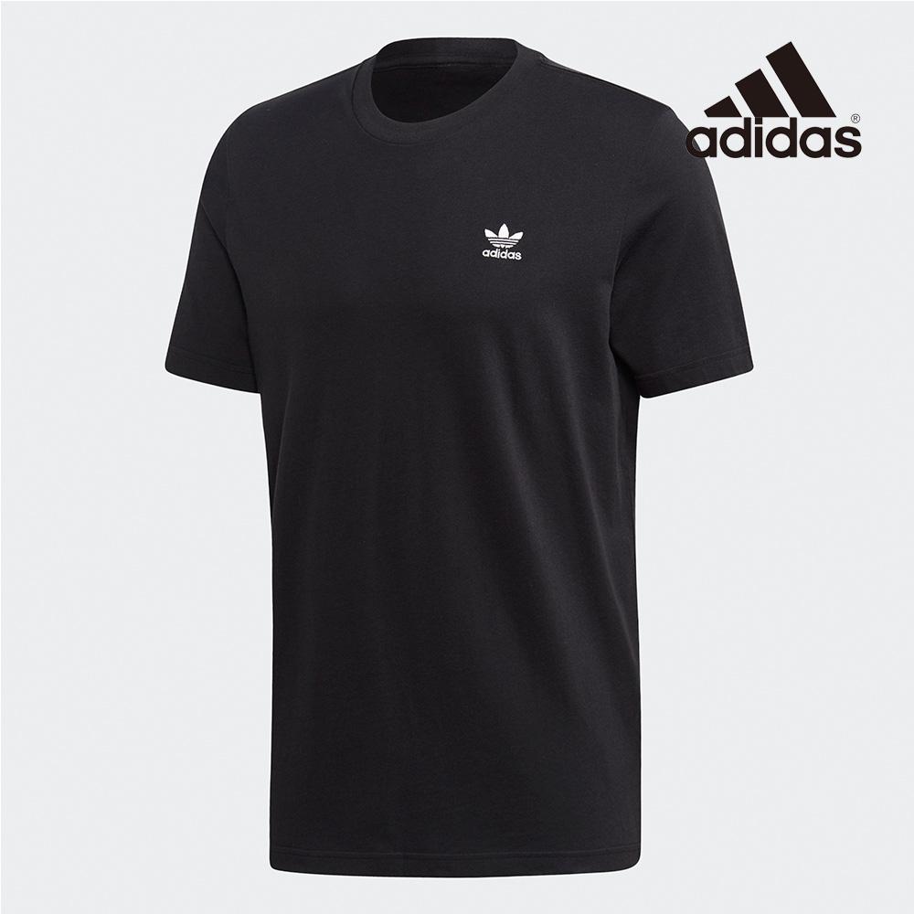 아디다스 오리지널 트레포일 에센셜 티 남자 여자 티셔츠 반팔