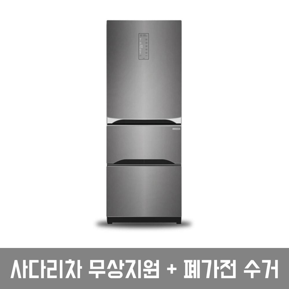 LG전자 트윈스 디오스 김치톡톡 김치냉장고 K339SN15E 327L 스탠드형