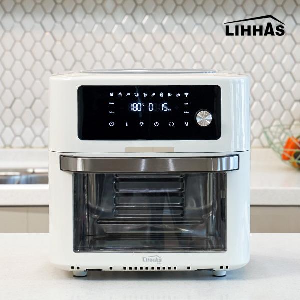 리하스 올스텐 대용량 에어프라이어 KHD-18L 3가지 감성컬러 에어프라이기, KHD-18L 리코타 화이트