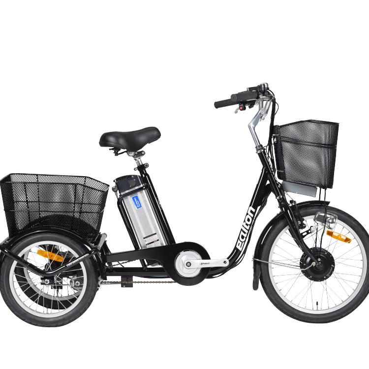 알톤 2019 이지아 삼륜 전기자전거, 블랙
