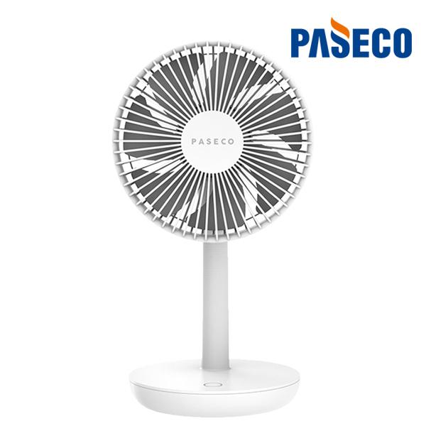 파세코 야외 무선 미니선풍기 7엽 BLDC 저소음 강력모터 대용량배터리 최대12시간 썸머특가 18대, 화이트 (POP 1598607859)