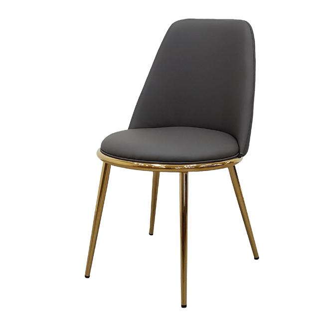 가구동네 골드 체어 예쁜 카페 인테리어 디자인 의자, 그레이