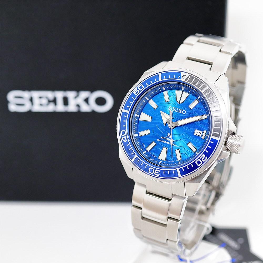 세이코 SEIKO SRPD23J1 사무라이 다이버 Samurai Divers Automatic Watch 공식 수입 정품