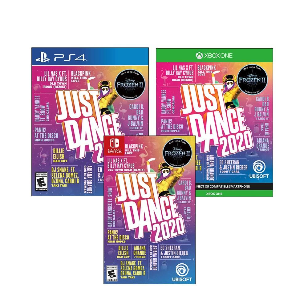 Ubisoft 저스트댄스 2020 닌텐도 스위치 PS4 XBOX