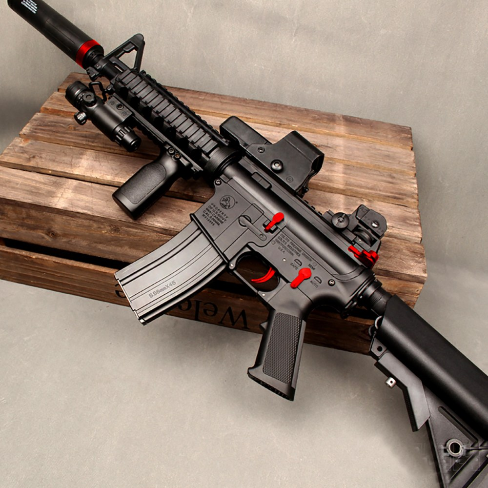 M4 A1 M416 배그 수정탄 젤리탄 총 HK416 다크팬텀