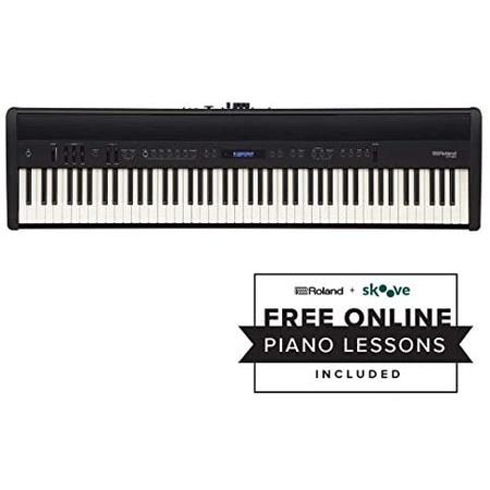Visit the Roland Store Roland FP-60 88-key Portable Digital Keyboard with DP-10 Damper Pedal PROD15, 검은