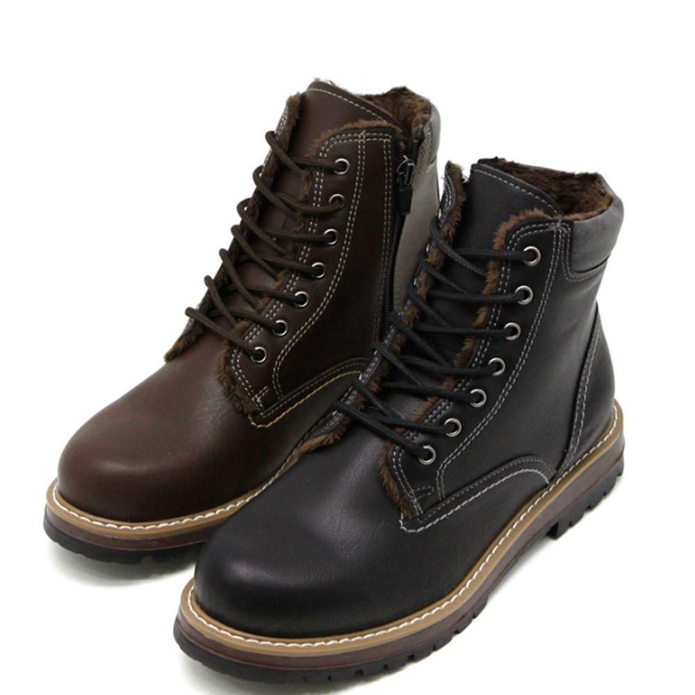 [슈즈_꼬까신]남성 하이탑 워커 겨울 방한 따뜻한 워커화 통굽 신발 na#_963jshs