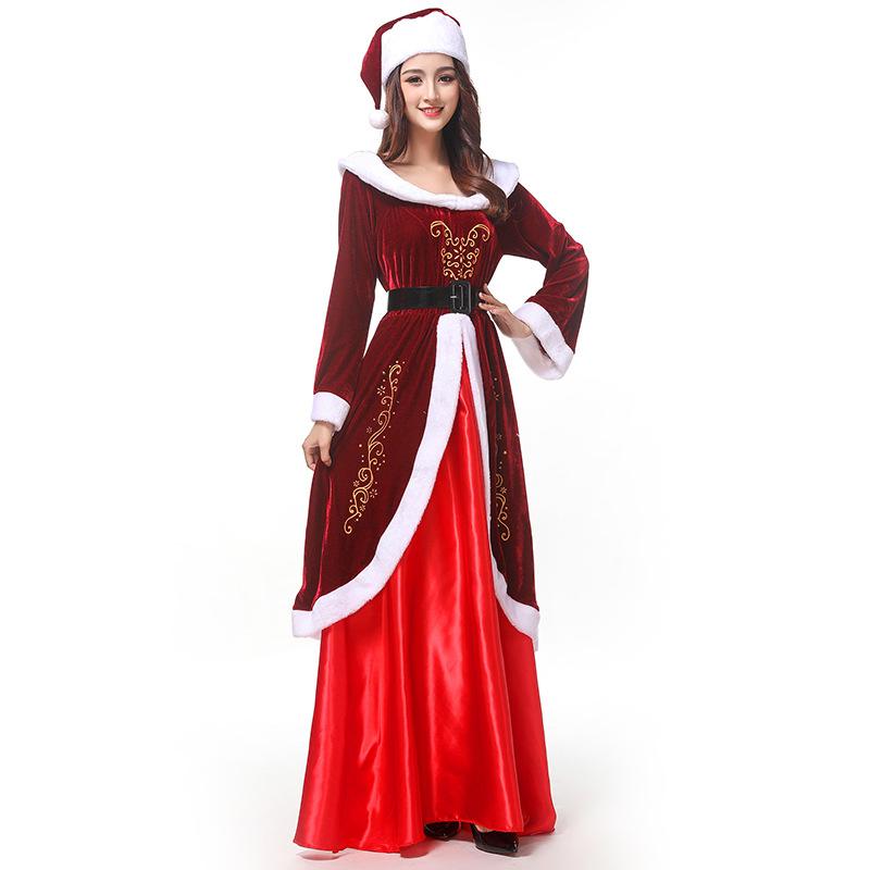 심쿵패션 크리스마스 의류 클래식 퀸 파티복