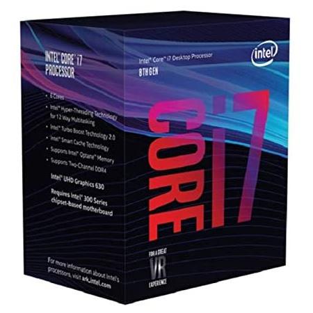 Intel Coffee Lake BX80684I78700 8th Gen Core i7-8700 Six Core Processor - OEM Tray Version PROD17000, 상세 설명 참조0