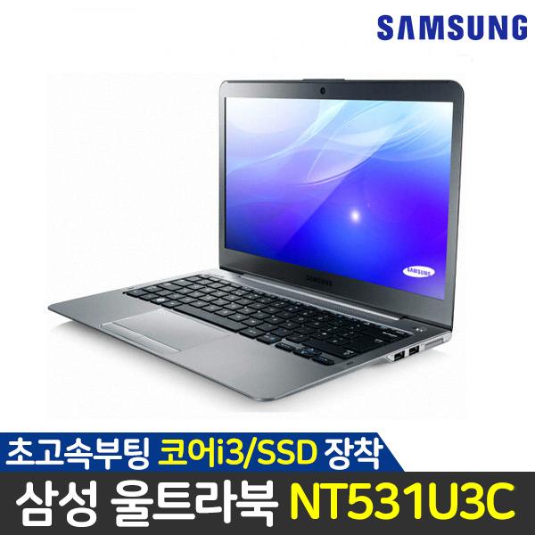 삼성 노트북 코어i3 SSD탑재 NT531U3C 실버, 8GB, SSD256G, 윈도우10 사진이미지