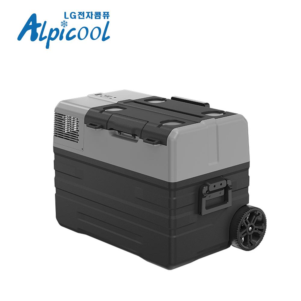 알피쿨 캠핑냉동고 차량용미니냉장고 42L (LG콤퓨), 단품