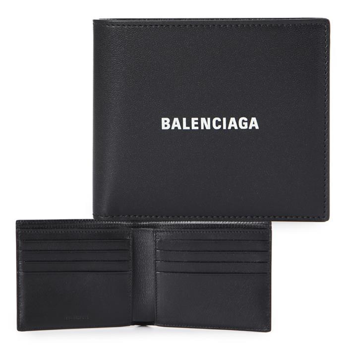 [큐럭셔리] 발렌시아가 594549 1I353 1090 블랙 남성지갑 반지갑