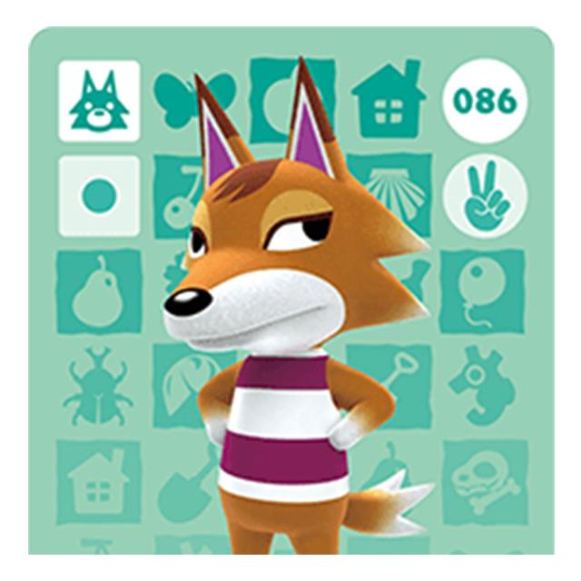 [호환품] 닌텐도 스위치 동물의숲 인기주민 아미보 카드 칩, 1개, 대장