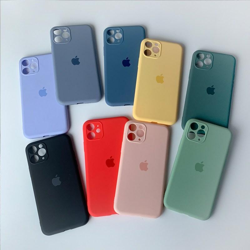 트리플케미 아이폰11 카메라 풀커버 아이폰 젤리케이스 휴대폰 케이스