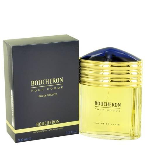 Boucheron Boucheron Mens 3.4-ounce Eau de Toilette Spray - Gold