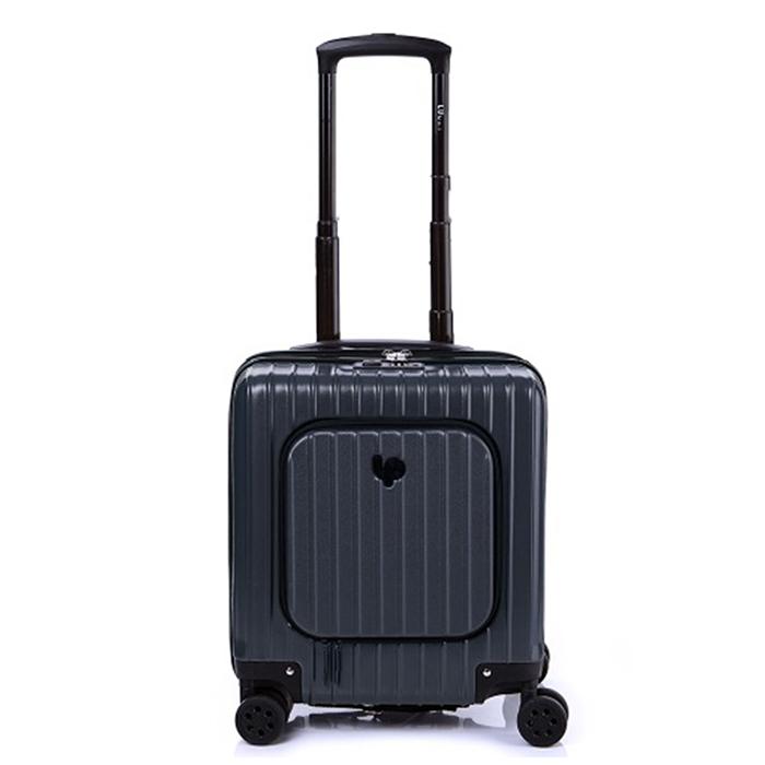 럭키플래닛 고 비욘드 에보니블랙 17인치 기내용 하드캐리어 여행가방 캐리어