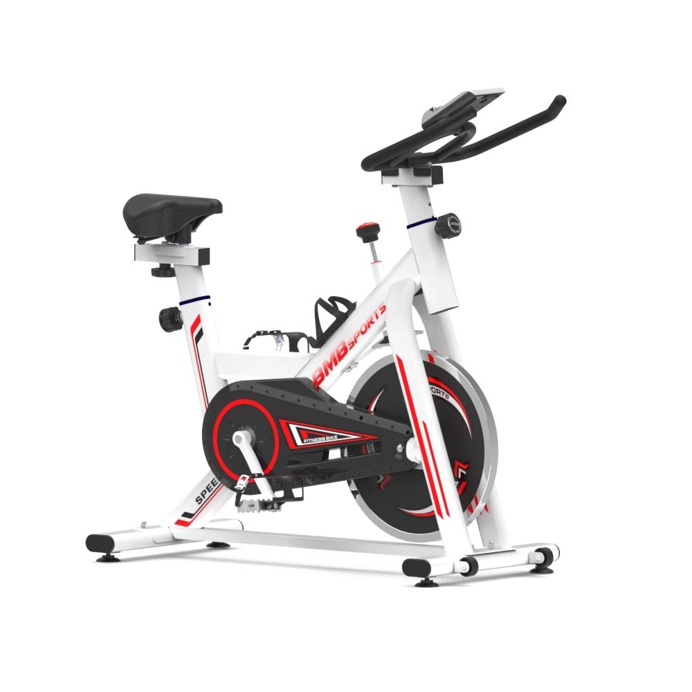 비앰비스포츠 고정식 자전거 BSI-X105AZ 스핀바이크 실내 사이클 가정용 홈트, BSI-X105AZ 화이트(전용매트미포함)