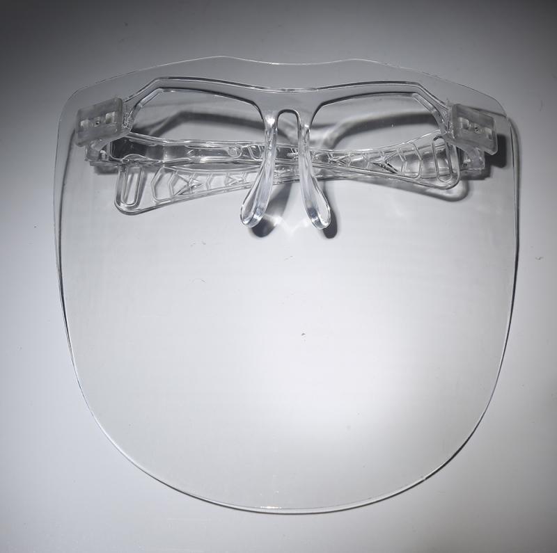 주방 투명 얼굴 보호대 안티오일 양파 고글 방진 마스크 마스카릴라 재사용 가능 모터 장비 오토바이 안경, 01 1 pcs