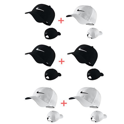 나이키골프 레가시91 테크 골프캡 골프캡(1+1), 옵션[1] 블랙+화이트