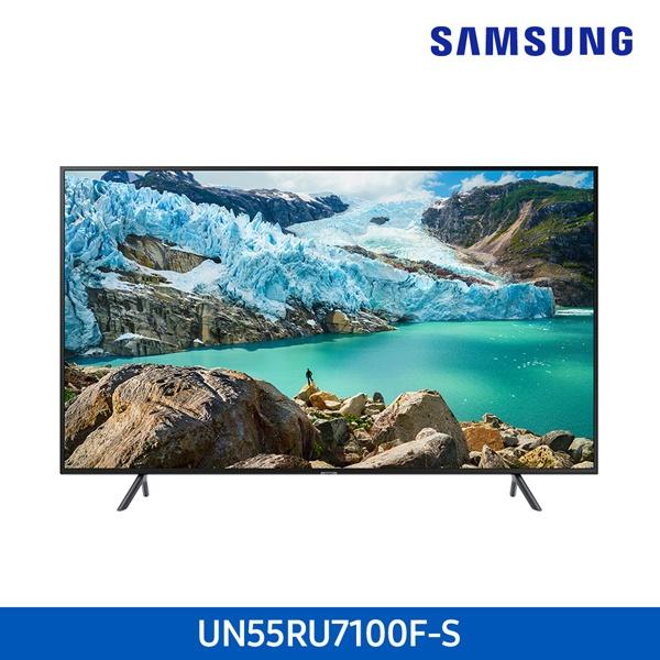 라온하우스 [삼성전자] 프리미엄 55인치 스탠드 벽걸이 텔레비전 tv/티브이/4K UHD LED TV/기사무료설치, 벽걸이 UN55RU7100FXKR