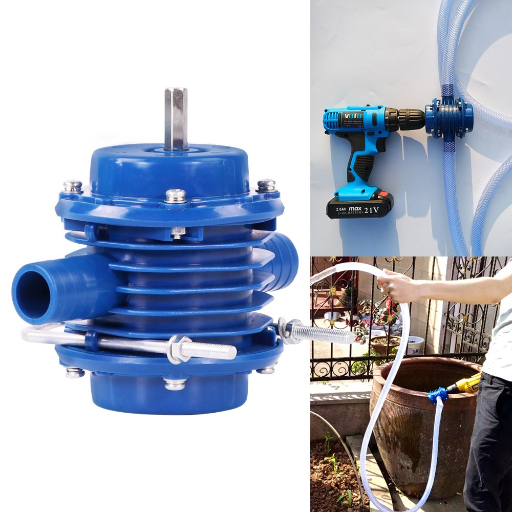 Drill Pump 소형 드릴펌프 미니 워터펌프 양수기 급수 배수 펌프 수족관 물빼기
