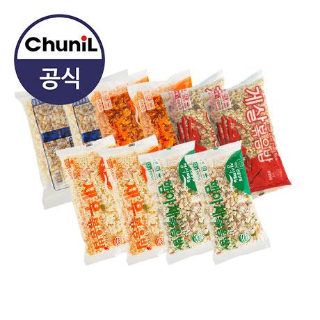 [천일식품] 인기볶음밥(각2봉 총10봉) 낙지 새우 갈릭 게살 햄야채, 1세트