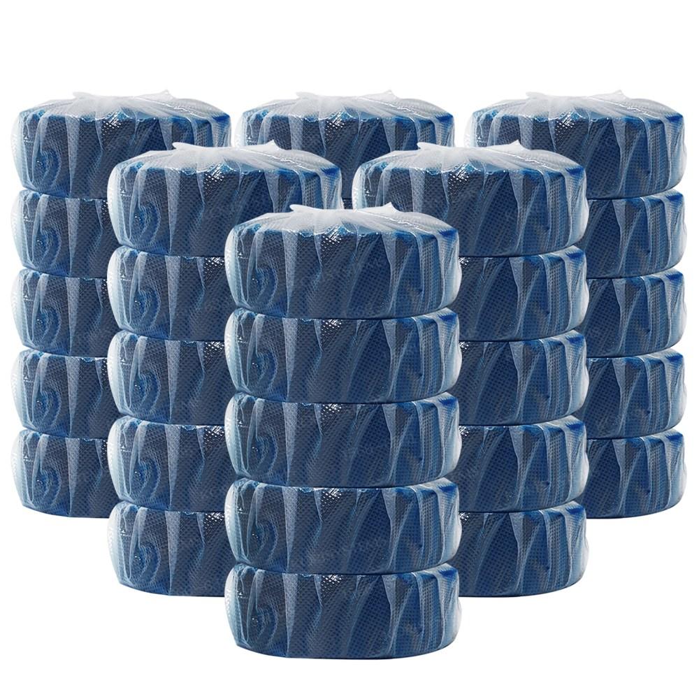 국산 오션블루 청크린 40g 30알 변기세정제, 30개 (POP 2270479731)