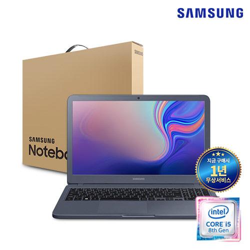 [딱하루사용] 삼성 노트북5 NT551EBE 리퍼 ( i5-8265U/DDR4 8G/SSD256G/인텔UHD620/Win10Pro)