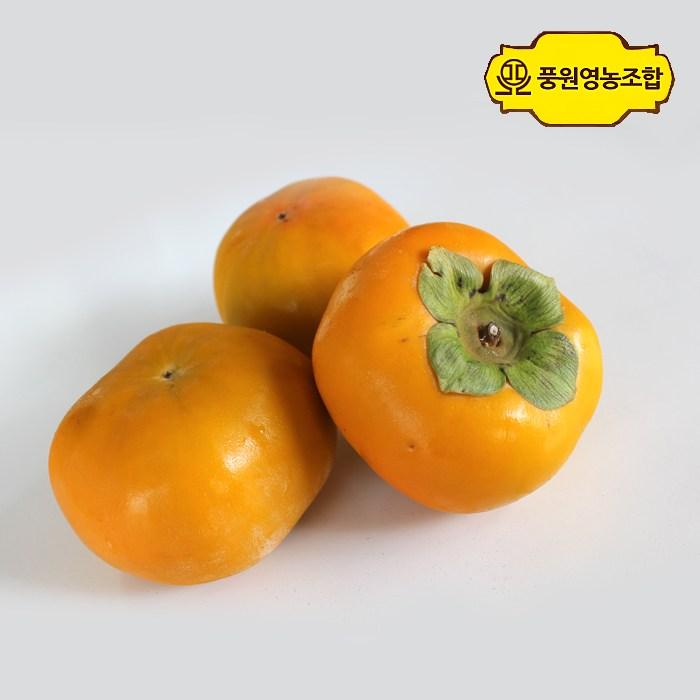 풍원영농조합 단감, 1박스, 가정용흠과(사이즈랜덤) / 10KG