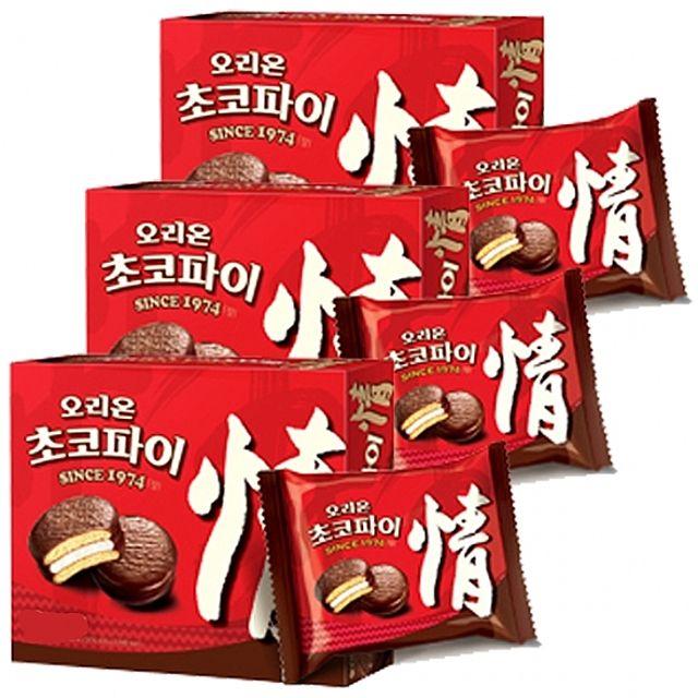 [ 빵 정 ] 오리온)초코파이 420g x 4개 초코렛 마시멜로우(W259532), 1