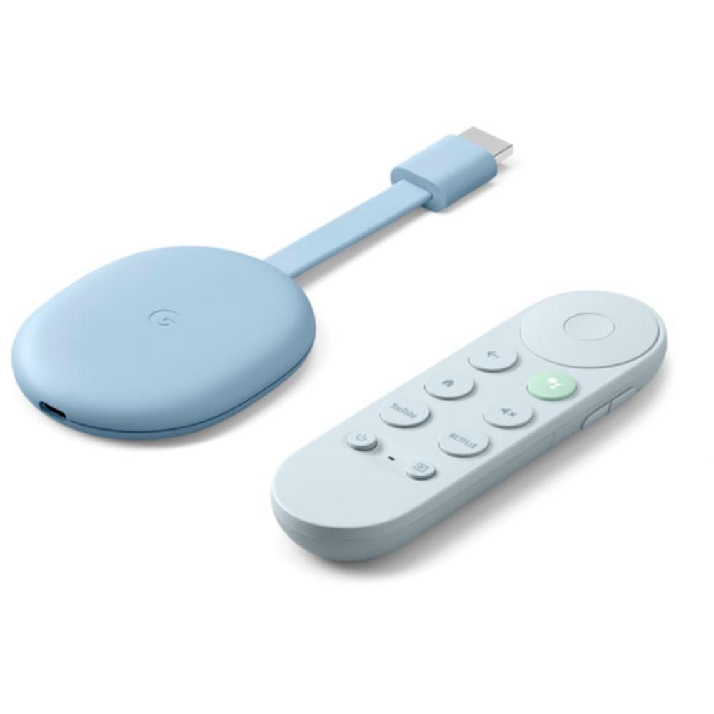 구글 크롬캐스트 4k TV 리모컨 60Hz with 구글TV 2020 신형, 크롬캐스트 위드 구글 TV 블루