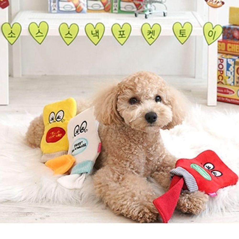 강아지 휴지 뽑기 장난감 혼자두기 놀이터 분리 불안 훈련 담요 두더지 스트레스 해소 만들기, 패리스독 소스 스낵 포켓토이(종류임의)