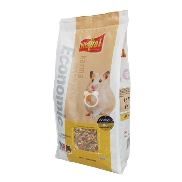 vitapol 비타폴 이코노믹 햄스터 사료 1.2kg 햄스터사료 햄스터푸드, 1개