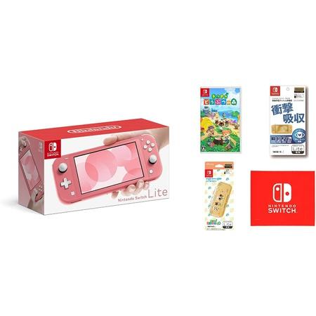 1. Nintendo Switch Lite 코랄 모이기 동물의 숲 - Switch [닌텐도 라이선스 상품] Nintendo Switch Lit, 원 컬러_원 사이즈, 상세 설명 참조0, 상세 설명 참조0