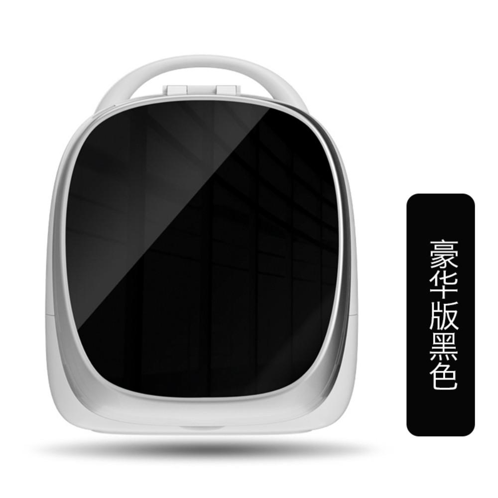 휴대용 스마트 화장대 화장품정리대 홈 탁상시계, 럭셔리 블랙개