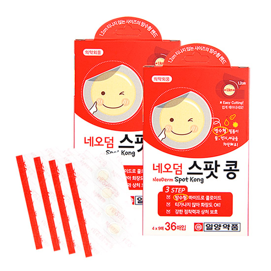 네오덤 스팟콩 36매입, 2갑 (POP 29022488)