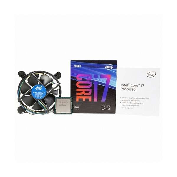 엠지컴/인텔 코어i7-9세대 9700F (커피레이크-R) 정품, 옵션없음