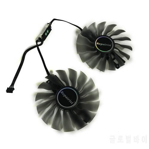 GeForce Palit GTX1080ti GTX1070ti 그래픽 카드 교체 용 95MM FD10015H12S, 상세내용참조
