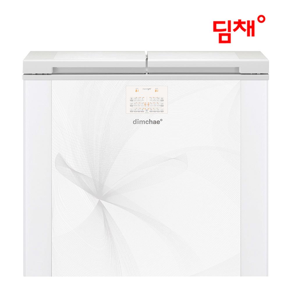 위니아 (공식) 19년형 딤채 뚜껑형 김치냉장고 EDL22BFTLGS